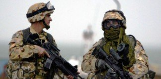 soldier body armor