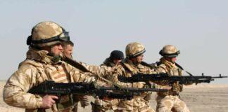 British body armour shortages