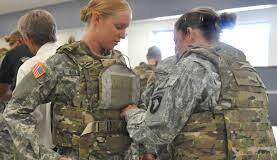 modern female body armor