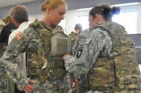 modern female body armor