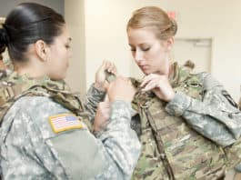 Members of the 101st Airborne Division's 1st Brigade will be the first to test the new female body armor, which was named one of Time Magazine's best inventions of 2012, in Afghanistan.