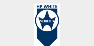 HP white verified