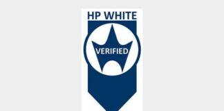 HP white verified