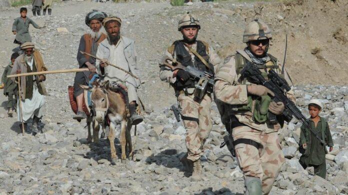 ISAF troops