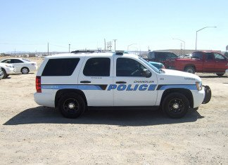 Chandler Police Patrol Car