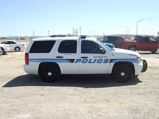 Chandler Police Patrol Car