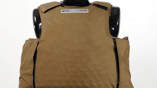 Dragon skin bullet proof vest