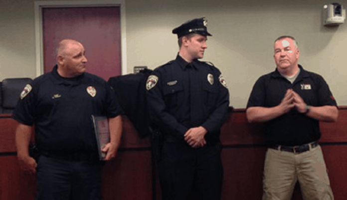 A Safariland Group ballistic vest saved York City Police Officer Ben Praster