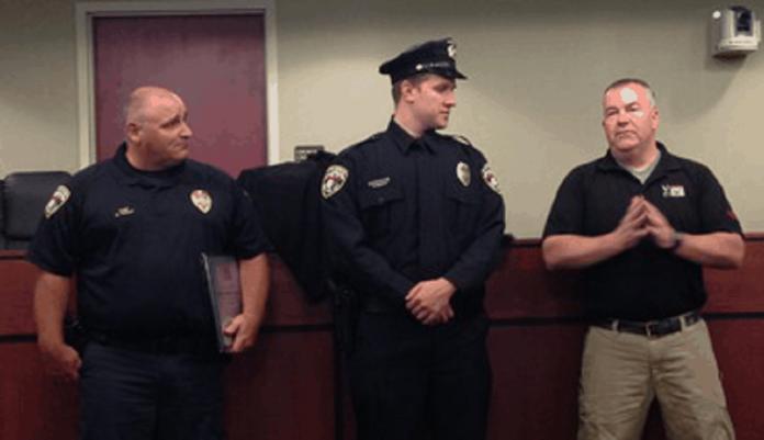 A Safariland Group ballistic vest saved York City Police Officer Ben Praster