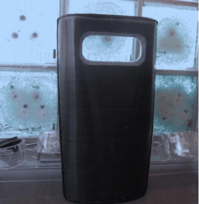 Allplast Ballistic Shield