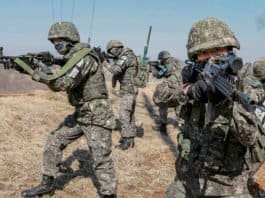 Korean military body armour