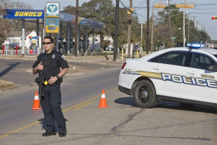 Bryan officer saved by bulletproof vest