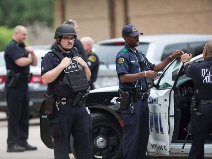 Dallas Police use of body armor
