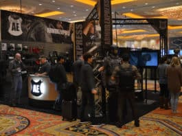 Armor Express booth