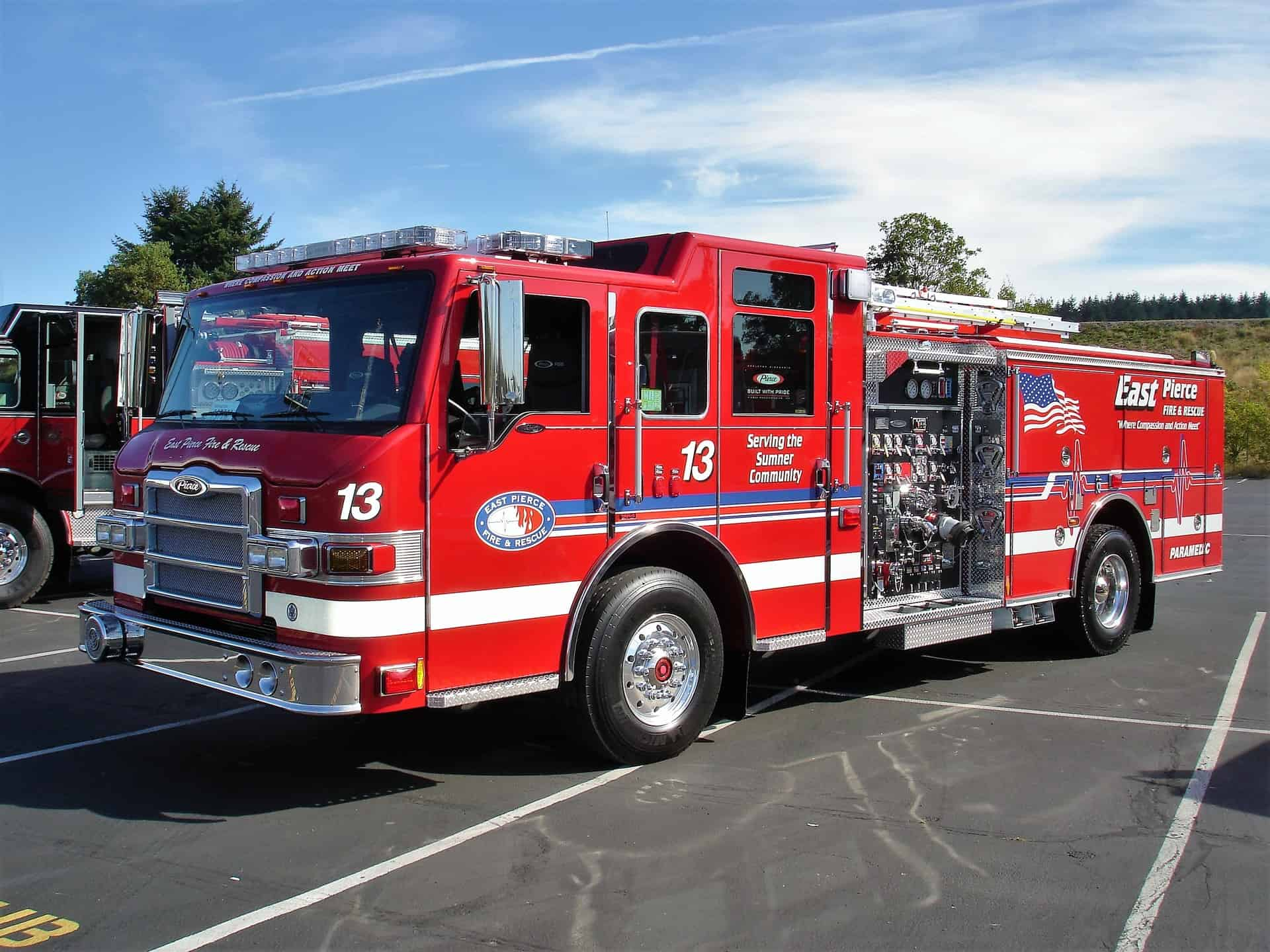 East Pierce Fire Department To Receive 30 Body Armor