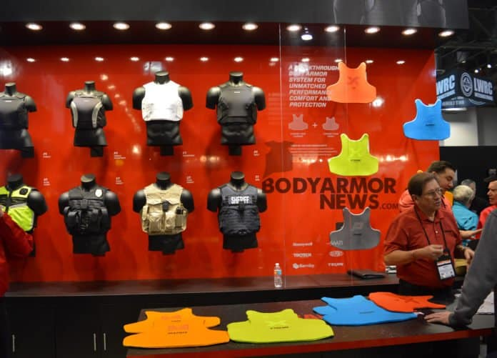 different types of body armor