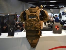 Point Blank tactical vest