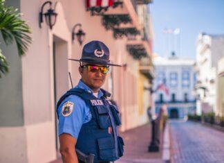 policia chaleco antibalas