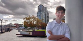 Belfast-based engineering graduate Peter Gilleece, founder of Vikela Armour.